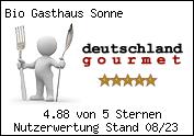 Bewertungen von Bio Gasthaus Sonne bei Schwarzwald Gourmet