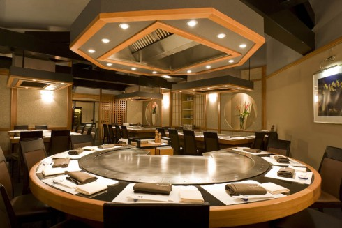 restaurant benkay im hotel nikko in d sseldorf. Black Bedroom Furniture Sets. Home Design Ideas