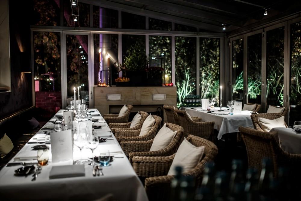 hotel restaurant die ente in ketsch, Esszimmer dekoo