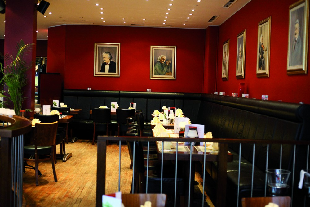 restaurant caf einstein in koblenz. Black Bedroom Furniture Sets. Home Design Ideas
