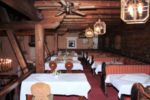 Speisekarte Hotel Post Wallgau