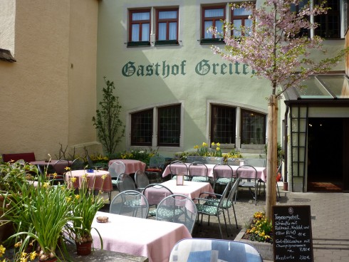 restaurant gasthof goldener greifen in rothenburg ob der tauber. Black Bedroom Furniture Sets. Home Design Ideas