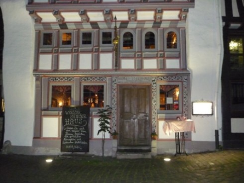 restaurant das werner senger haus in limburg altstadt. Black Bedroom Furniture Sets. Home Design Ideas