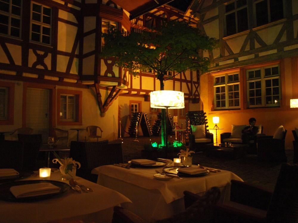 restaurant urgestein im steinh user hof in neustadt an der weinstra e. Black Bedroom Furniture Sets. Home Design Ideas