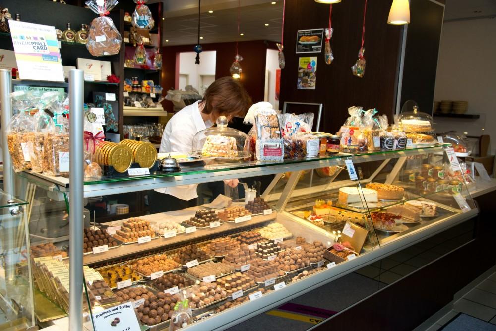 Restaurant Cafe Confiserie Conditorei Enkler in Kirchheimbolanden