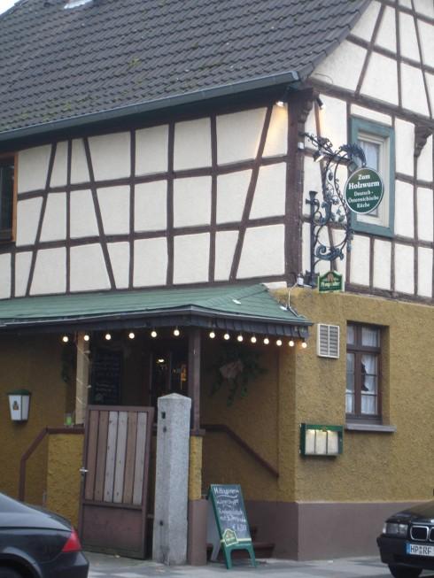 Restaurant Gastst Tte Zum Holzwurm In Bensheim Auerbach