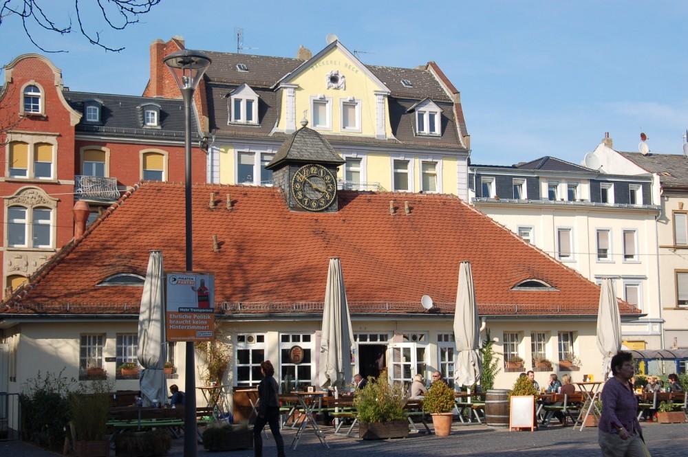 Restaurant Markthaus Am Wilhelmsplatz In Offenbach Am Main