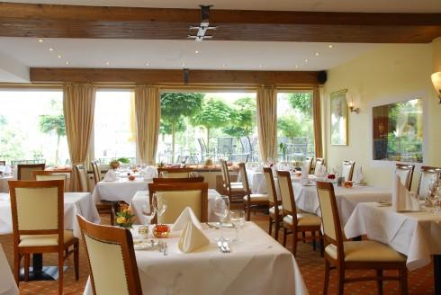 Restaurant le jardin im hotel goldener knopf in bad s ckingen for Le jardin haguenau restaurant