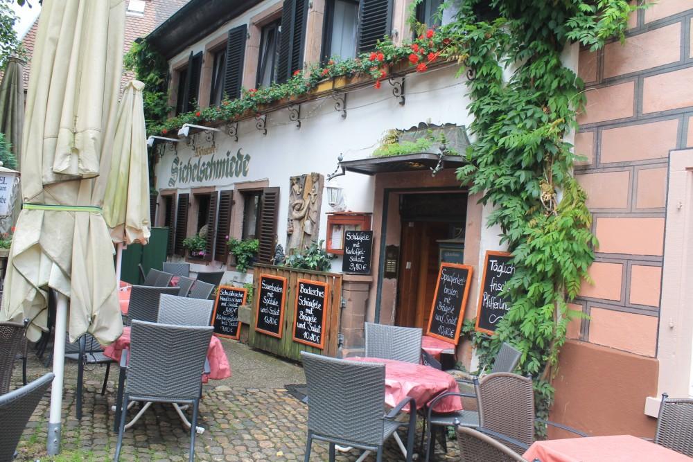 restaurant zur sichelschmiede in freiburg im breisgau. Black Bedroom Furniture Sets. Home Design Ideas
