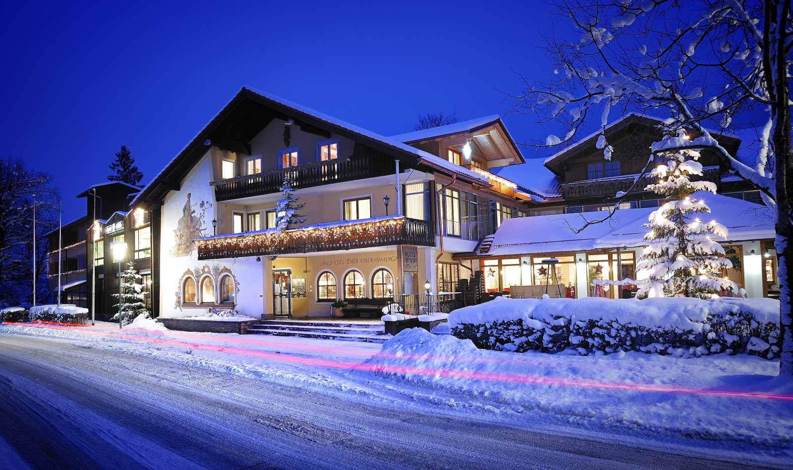 Romantik hotel b ld restaurant uhrmacher in oberammergau for Romantik hotel