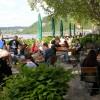 Restaurant Königsbacher Biergarten am Deutschen Eck in Koblenz (Rheinland-Pfalz / Koblenz)]