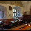 Restaurant Burgschänke der Burg Berwartstein in Erlenbach (Rheinland-Pfalz / Südwestpfalz)]