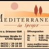 Restaurant Mediterraneo in Speyer