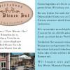 Restaurant Wirtshaus zum Blauen Hut in Viernheim (Hessen / Bergstraße)]