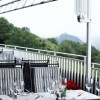 Steigenberger Grandhotel Petersberg- Restaurant Rheinterrassen in Königswinter (Nordrhein-Westfalen / Rhein-Sieg-Kreis)]