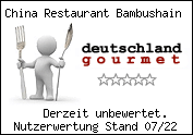 China Restaurant Bambushain In Bochum