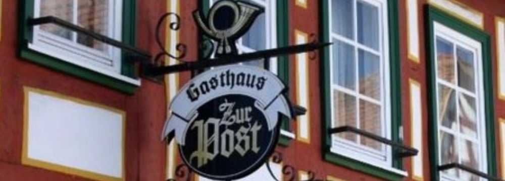 Restaurants in Gelnhausen: Zur Post