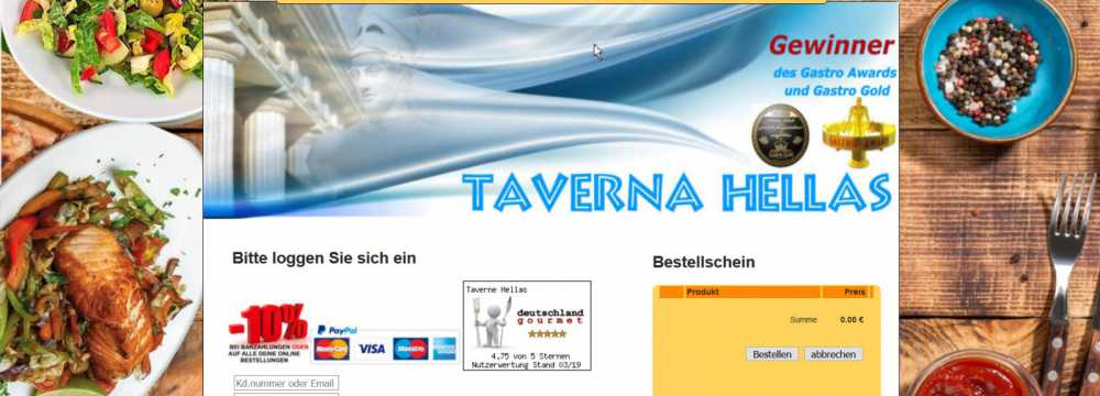 Taverne Hellas in Berlin