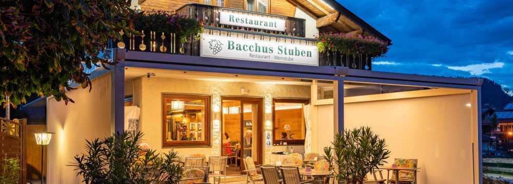 Restaurants in Oberstdorf: Bacchus-Stuben
