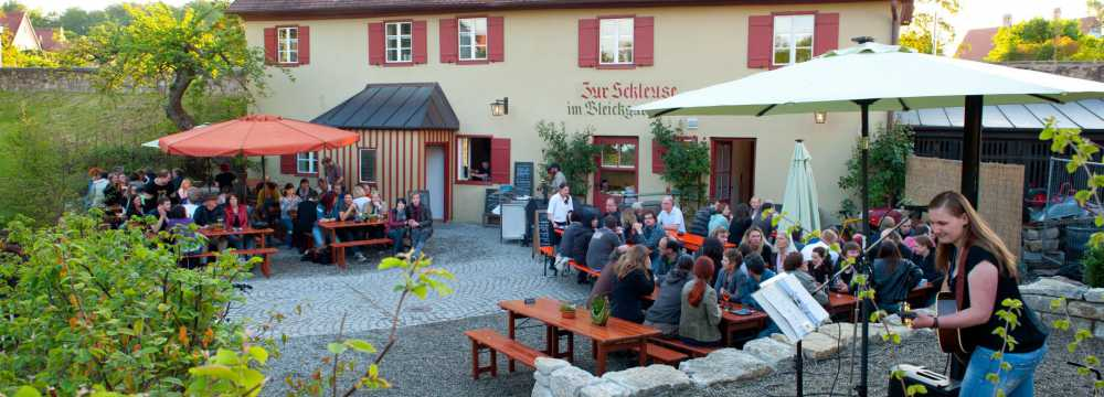 Restaurants in Dinkelsbühl: Zur Schleuse