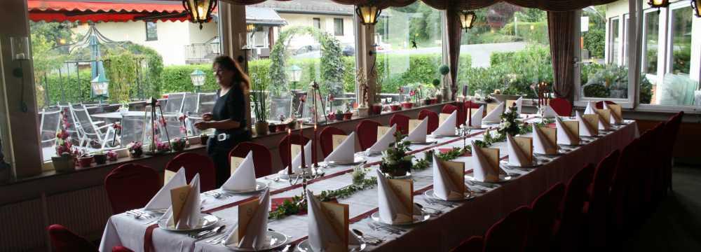 Haus Höfle • Café Restaurant in Mörlenbach- Juhöhe
