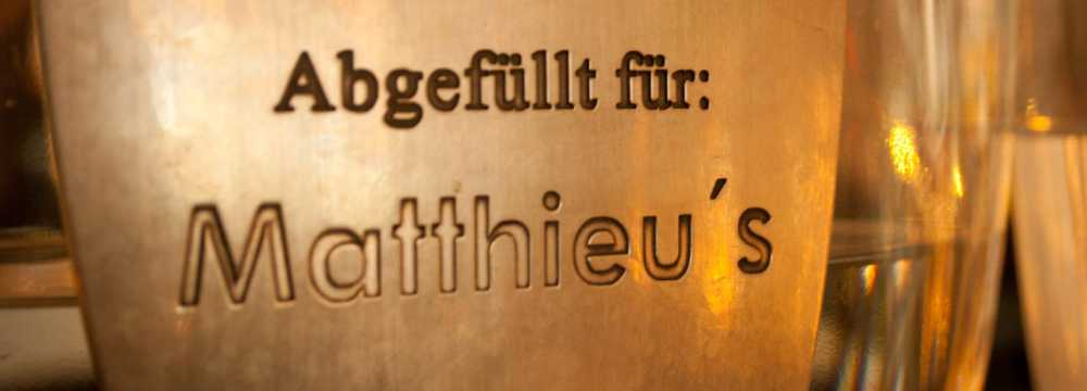 Restaurants in Bonn: Matthieus