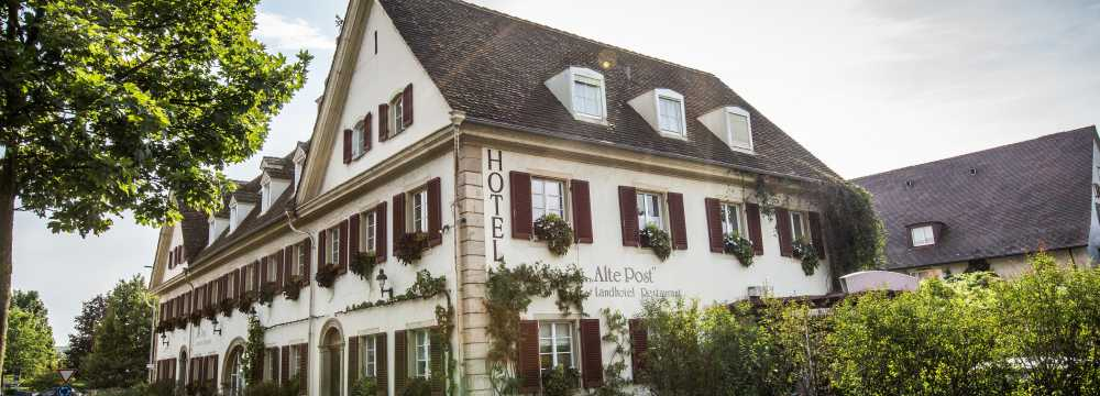 Restaurants in Müllheim: Hebelstube im Hotel Alte Post