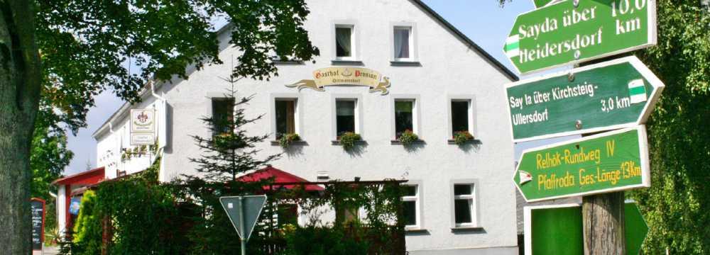 Restaurants in Pfaffroda-Dittmannsdorf: Gasthof Dittmannsdorf