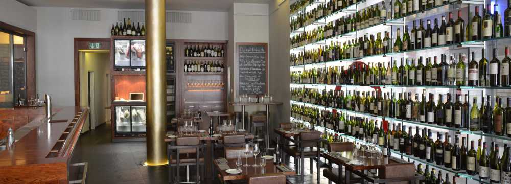 Restaurants in Berlin: RUTZ Restaurant & Weinbar