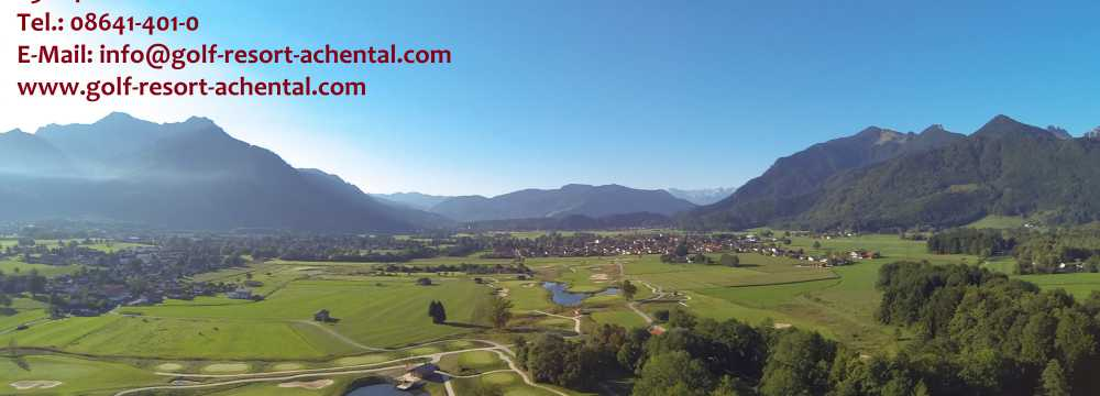 Golf Resort Achental GmbH in Grassau