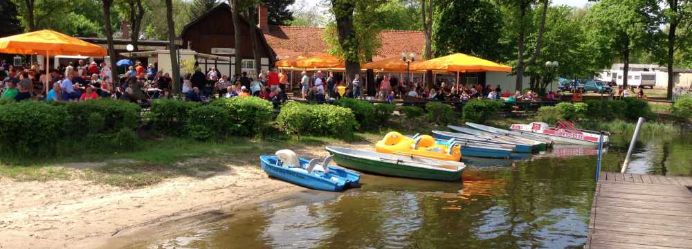 Restaurants in Brandenburg an der Havel : Malge Gasthaus am See