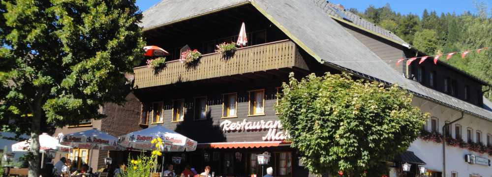 Restaurants in Todtmoos: Hotel Restaurant Maien