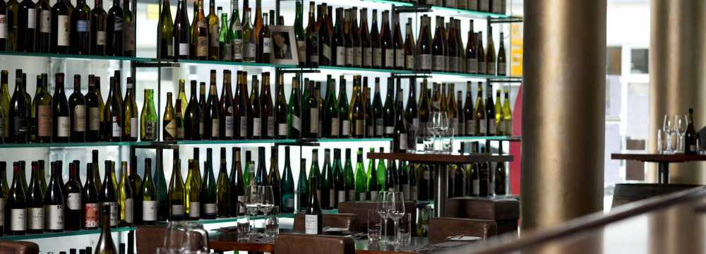 Restaurants in Berlin: Rutz Weinbar