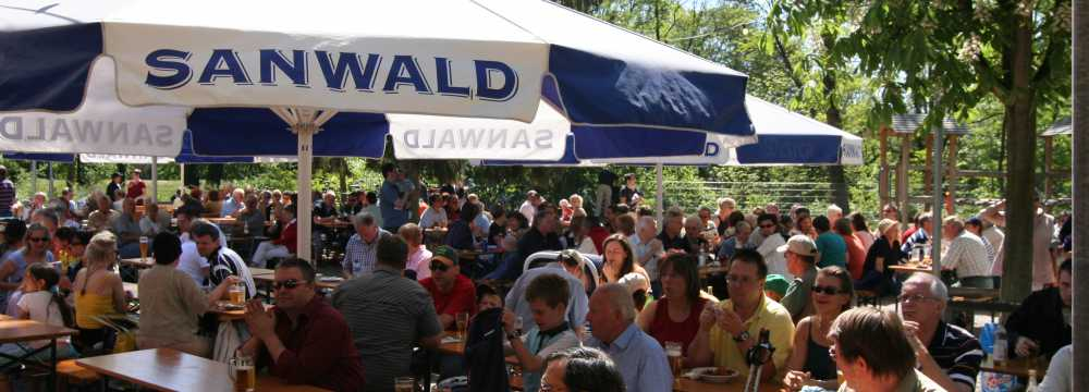 Biergarten Schwaneninsel in Waiblingen