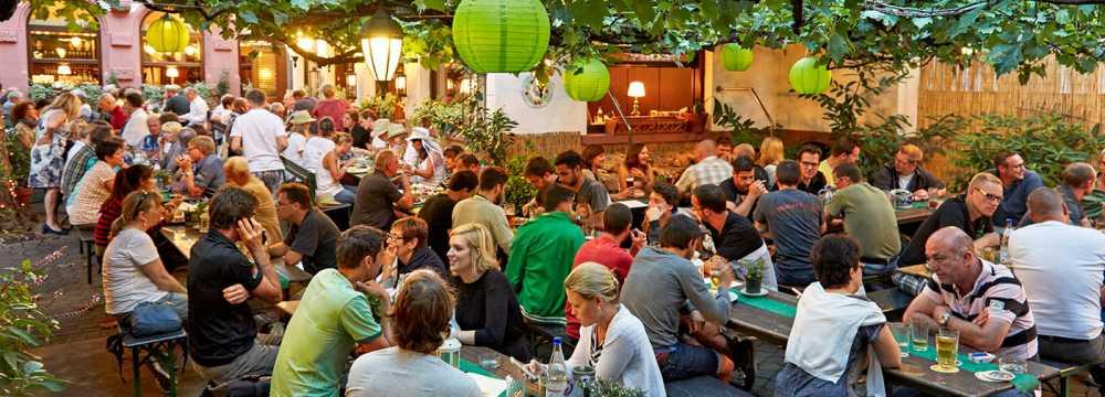 Restaurants in Frankfurt am Main: DAHEIM im Lorsbacher Tal