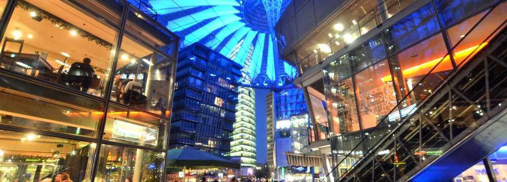 Lindenbräu im Sony Center in Berlin
