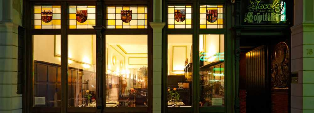 Restaurants in Bonn: La Cigale im Weinhaus Jacobs