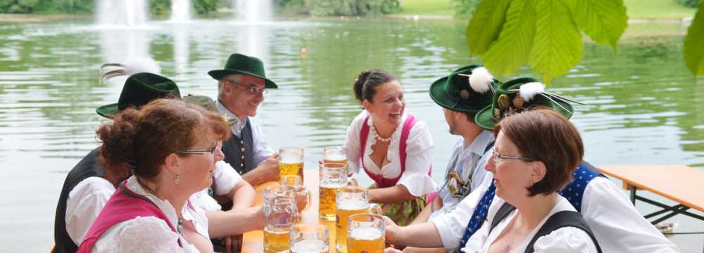 Restaurants in München: Michaeligarten Restaurant & Biergarten