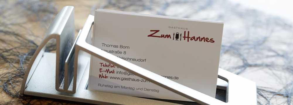 Gasthaus Zum Hannes in Welschneudorf