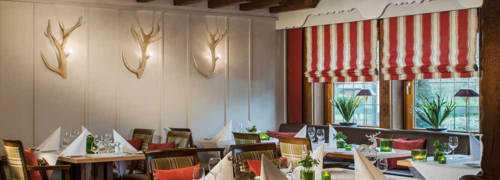 Restaurants in Bad Zwischenahn: Jäger-und Fischerstuben im Romantik Hotel Jagdhaus Eiden am See