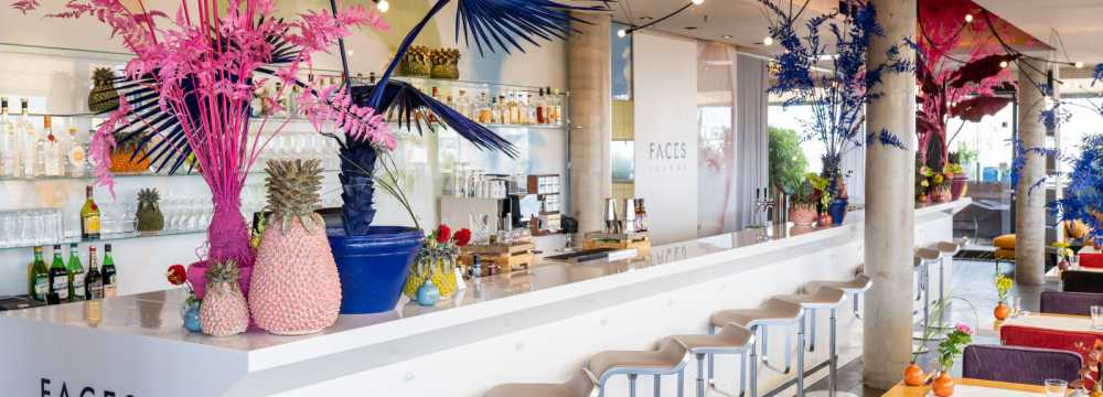 Restaurants in Mannheim: FACES Lounge