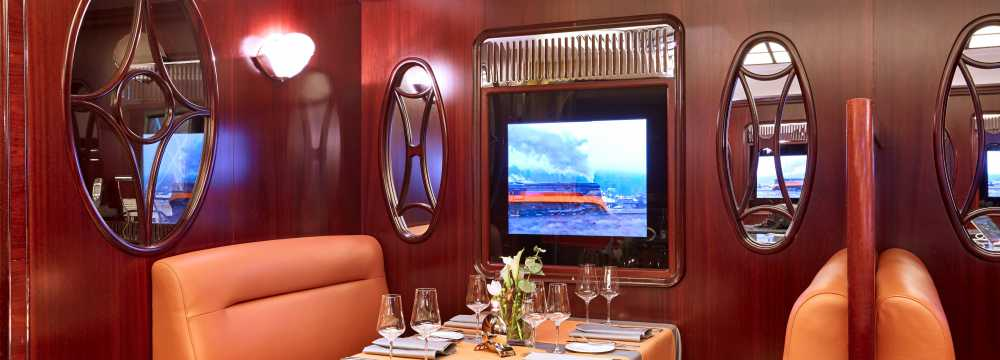 Restaurants in Leipzig: STEAKTRAIN im Seaside Park Hotel