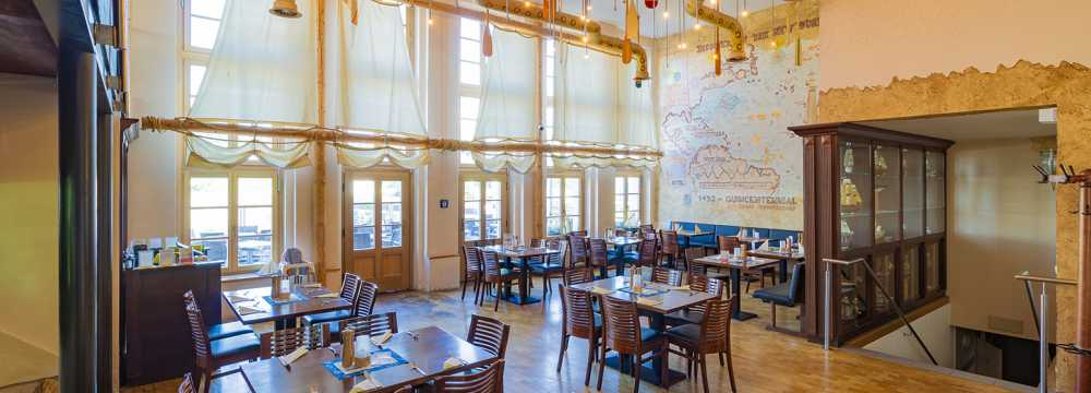 Restaurants in Dresden: Alberthafen - Restaurant Events Kajüten