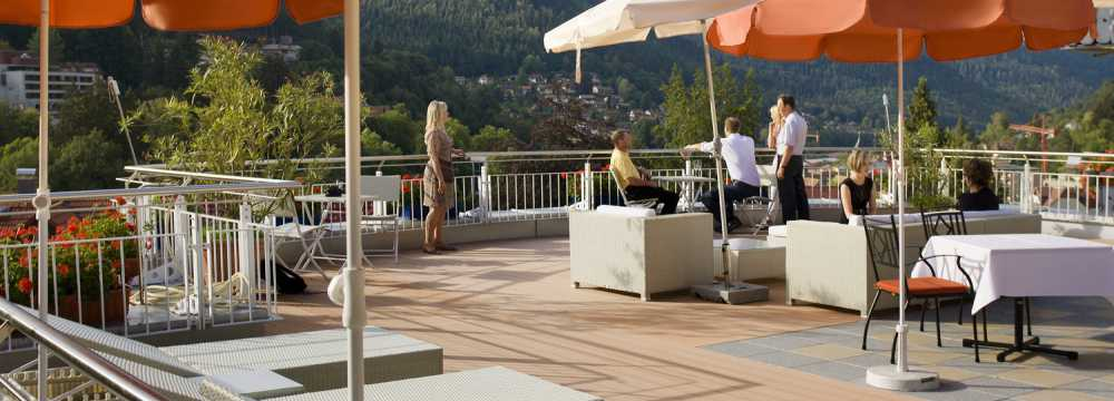Sommerbergblick in Bad Wildbad