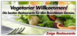 Vegetarische Restaurants in Deutschland