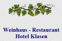 Logo von Weinhaus - Restaurant Hotel Klasen in Cochem