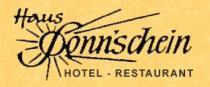 Logo von Hotel-Restaurant Haus Sonnschein in Cochem-Cond