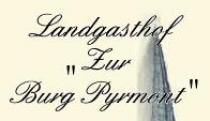 Restaurant Landgasthof Zur Burg Pyrmont  in Pillig