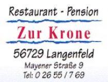 Restaurant Pension Zur Krone in Langenfeld