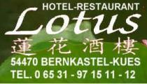 Restaurant HOTEL-RESTAURANT LOTUS in Bernkastel-Kues
